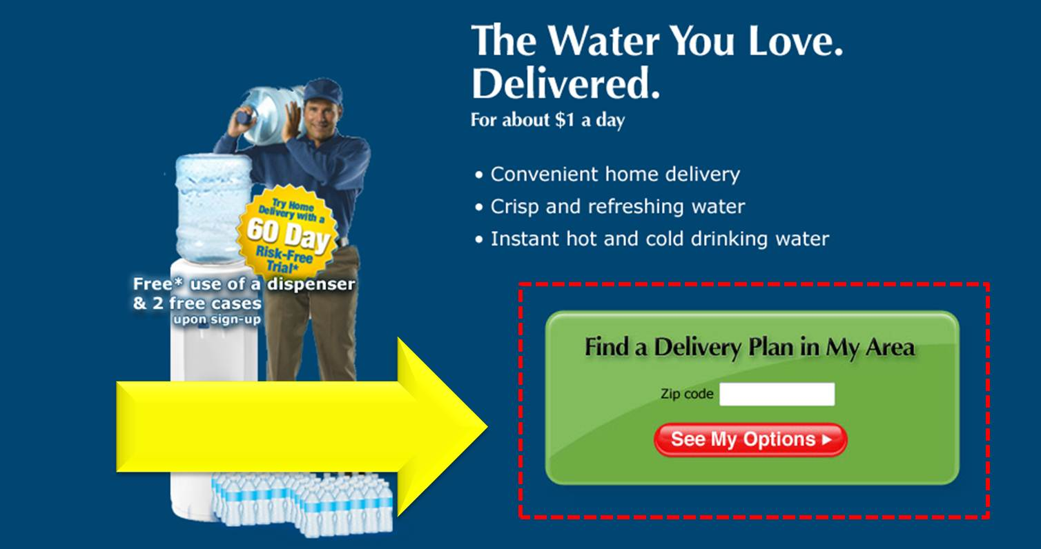 Water coupons