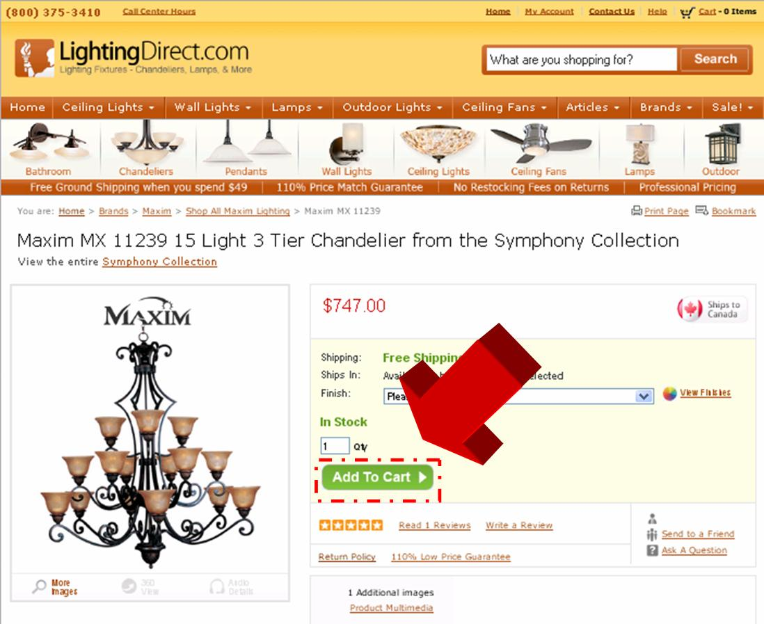 Direct lighting coupon code