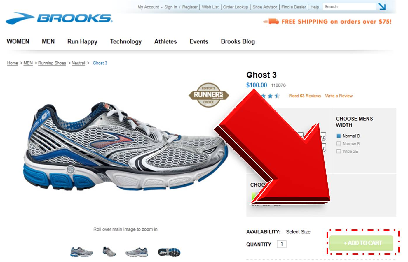 How to Redeem a Coupon Code at Brooks Running. Once you have selected your items at dendeseabli.cf, click on the shopping cart link at the top right of the screen. When you shop Brooks Running, you will find running shoes and apparel for men, women and kids. Use the shoe advisor to find the perfect shoe for your needs. Find reflective.