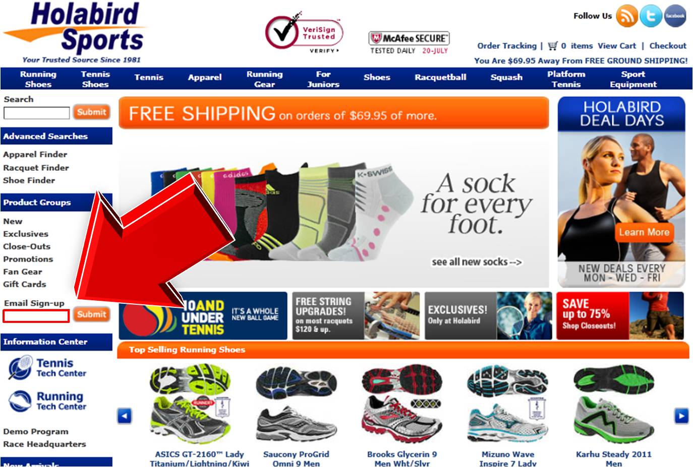 Holabird sports coupon code