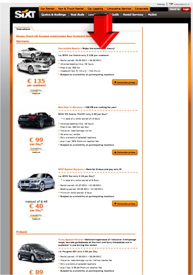 coupon discount sixt rent a car