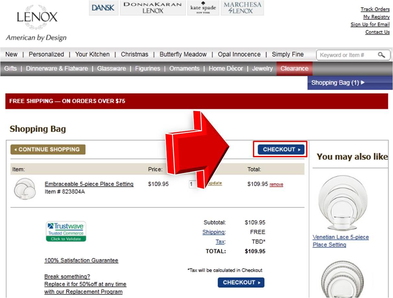 Lenox coupon code