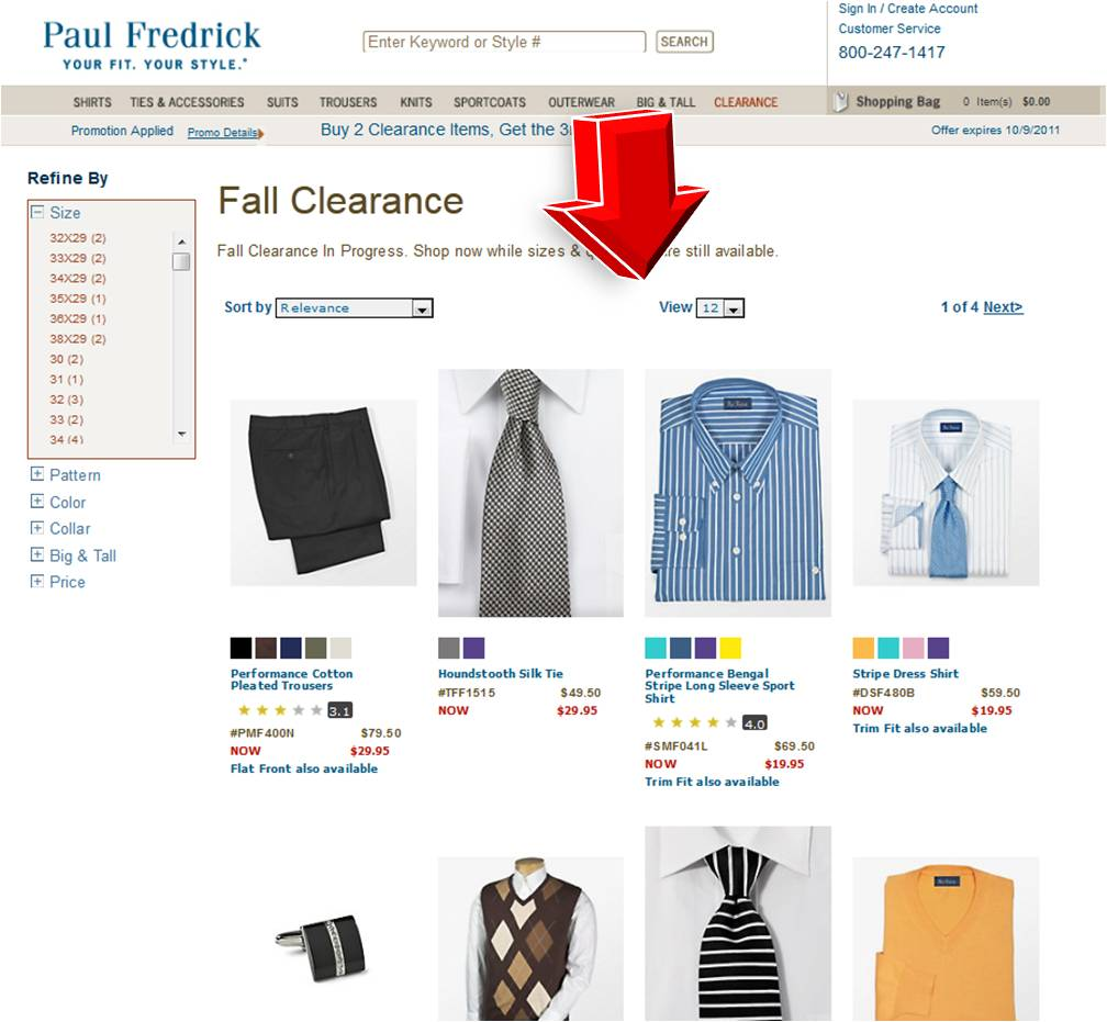 paul fredrick coupons 19.95 shirts