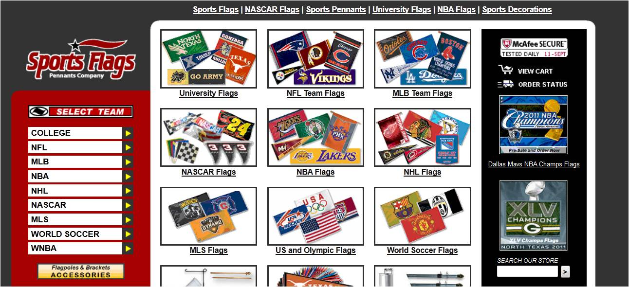 Sports flags coupon code