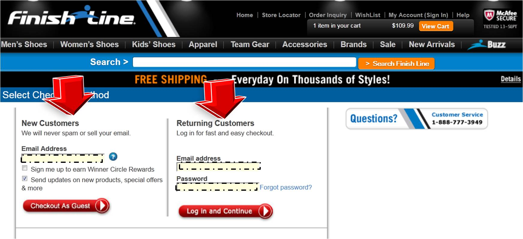 Finishline coupon codes