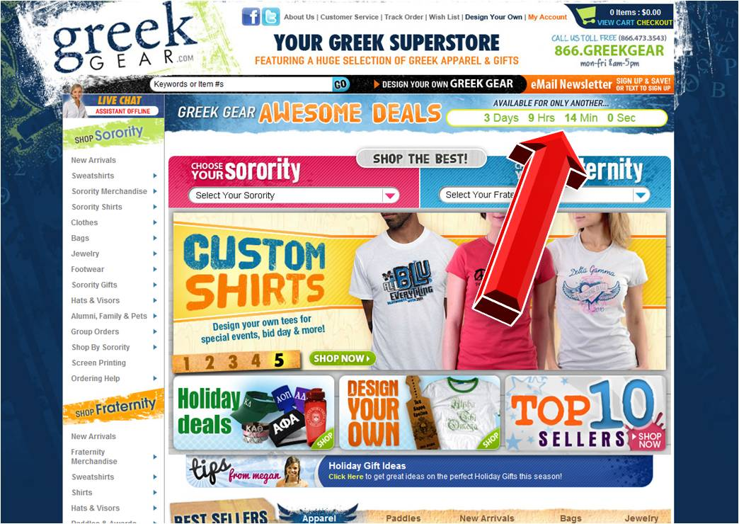 Greek gear coupon code