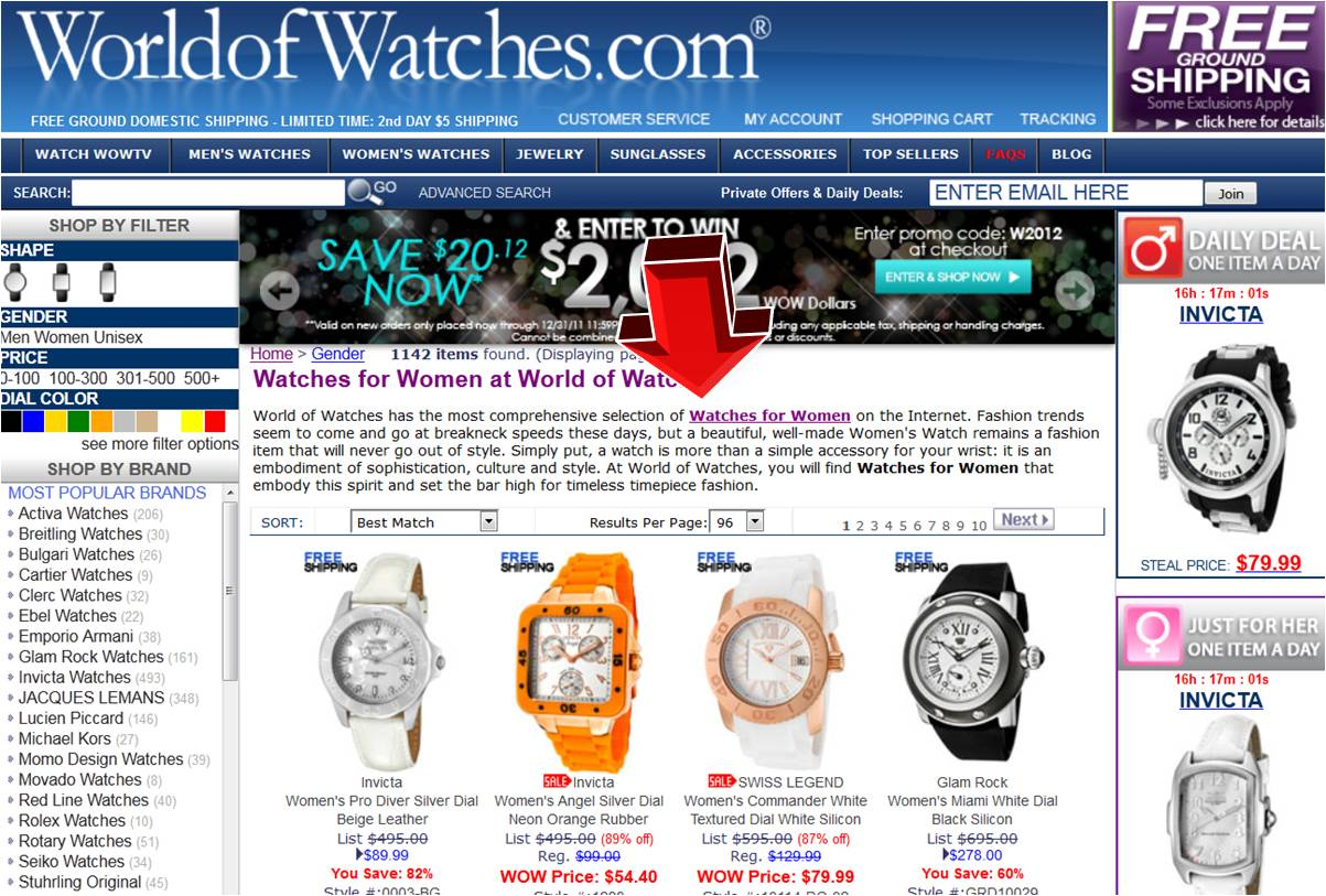 Maxima watches coupon code