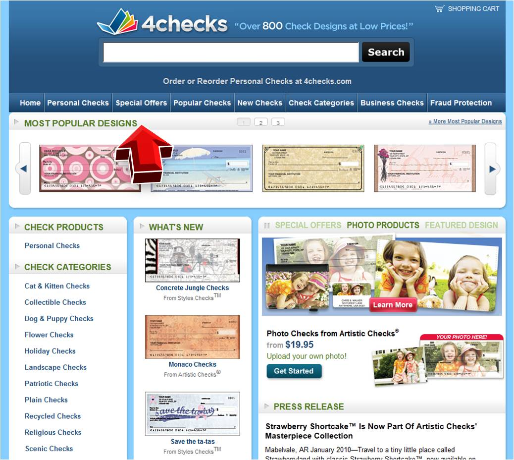 checks unlimited coupon business