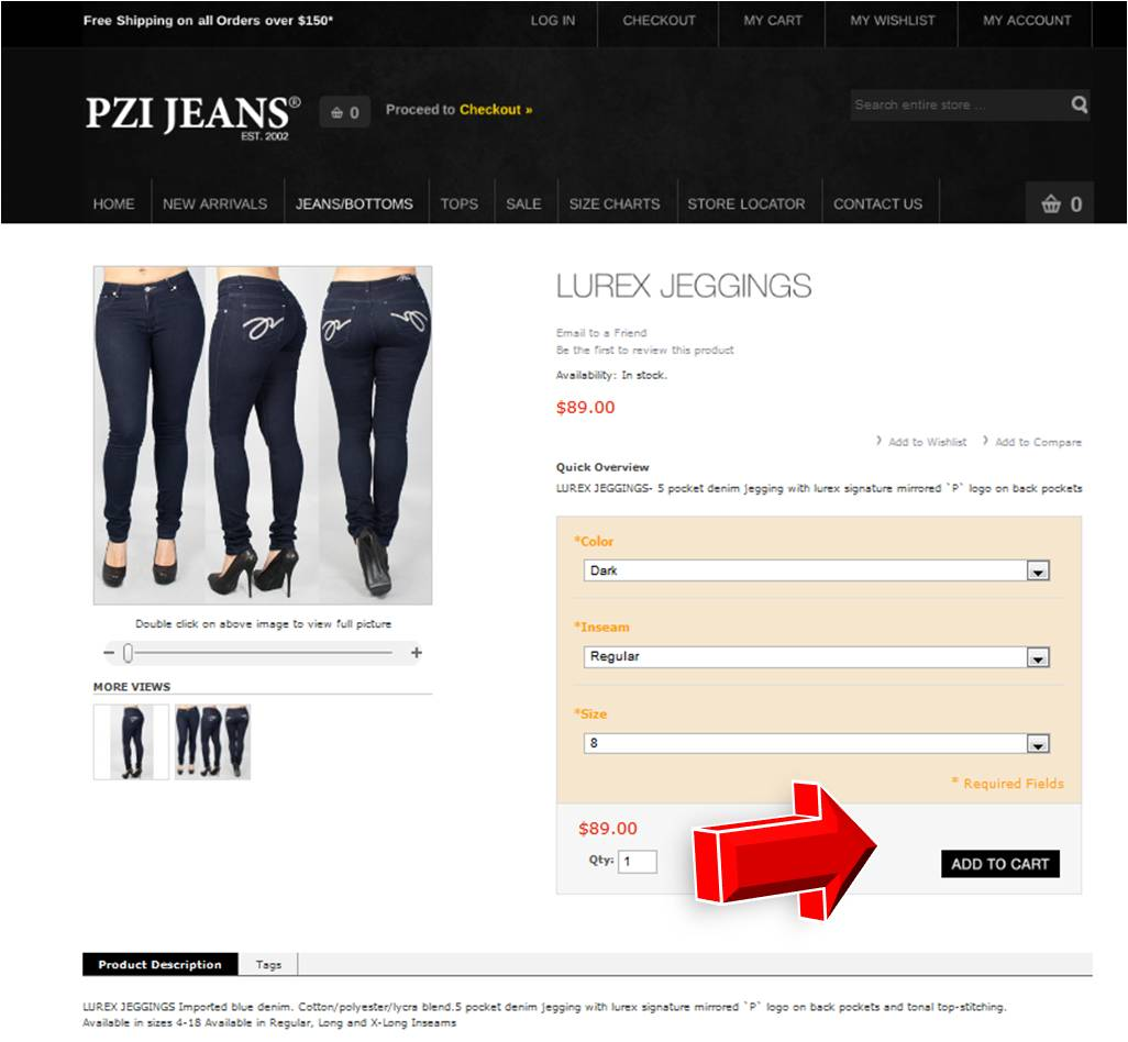 On average, PZI Jeans offers 0 codes or coupons per month. Check this page often, or follow PZI Jeans (hit the follow button up top) to keep updated on their latest discount codes. Check for PZI /5(3).