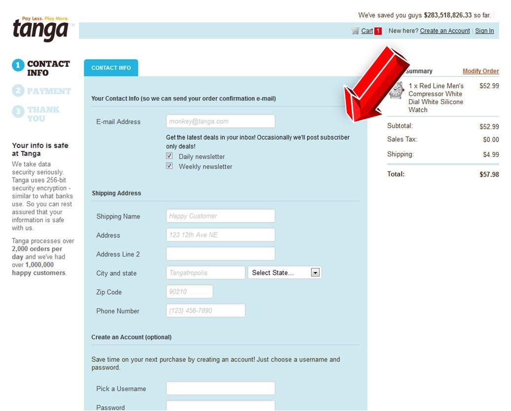 Tanga coupon code