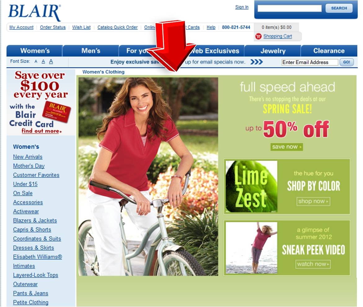 Blair coupons discounts