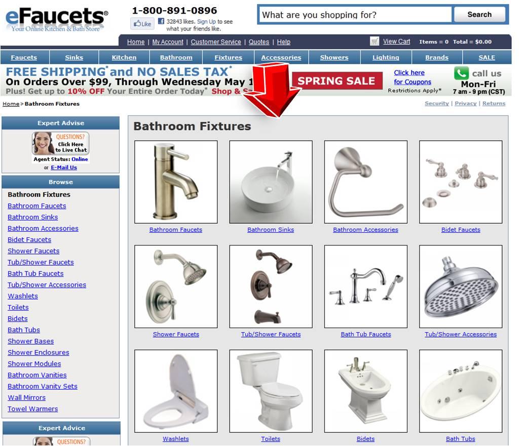 Efaucets Bathroom Coupon Code
