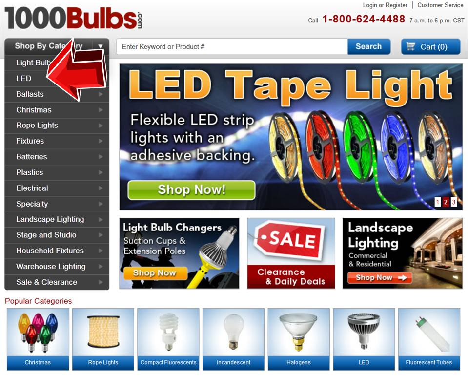 1000bulbs led coupon online codes