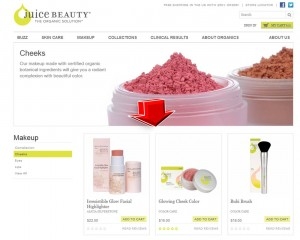Coupons on Juice Beauty Makeup Cheeks   Coupon Online Codes