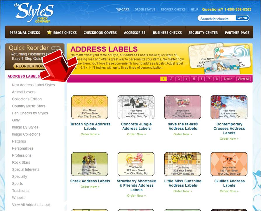 styles checks address labels coupon code With checks and address labels