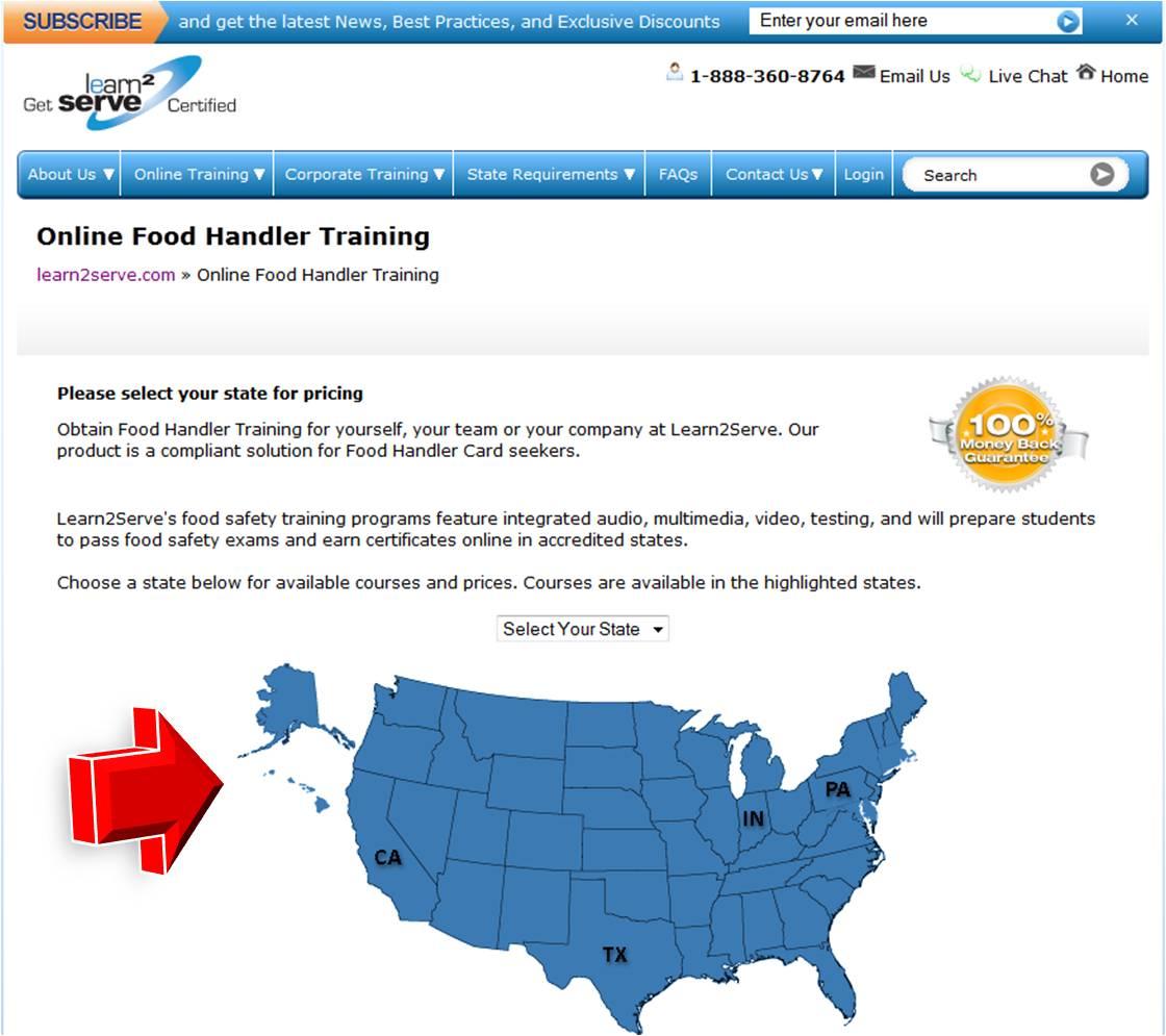 Learn2Serve Food Handler Training