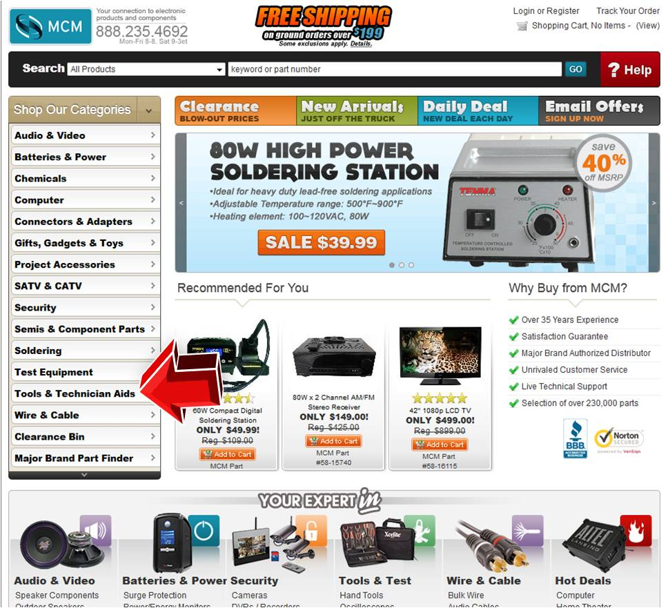 Discount coupons for electronics