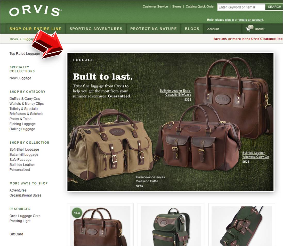 Orvis coupon code