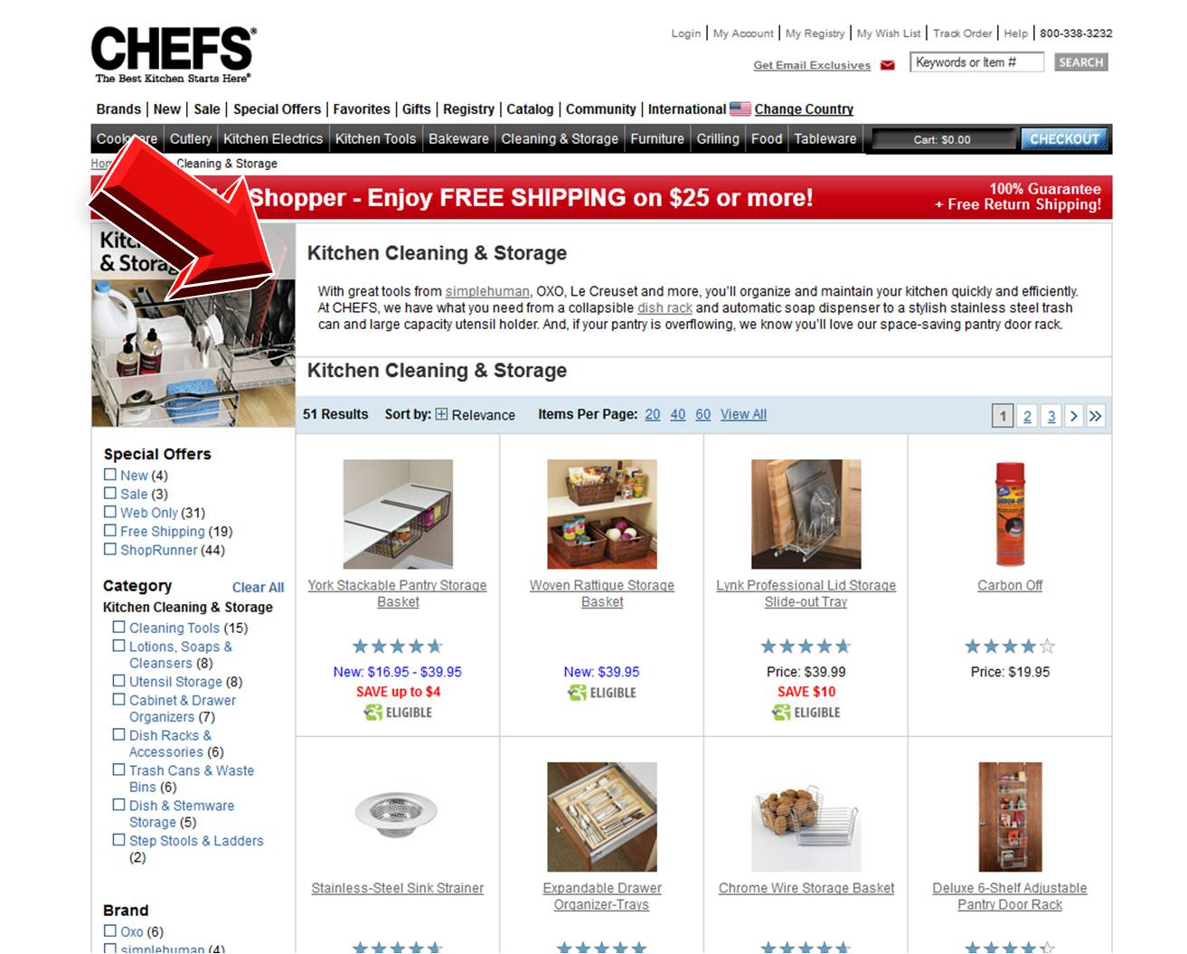 Chefs catalog discount coupons