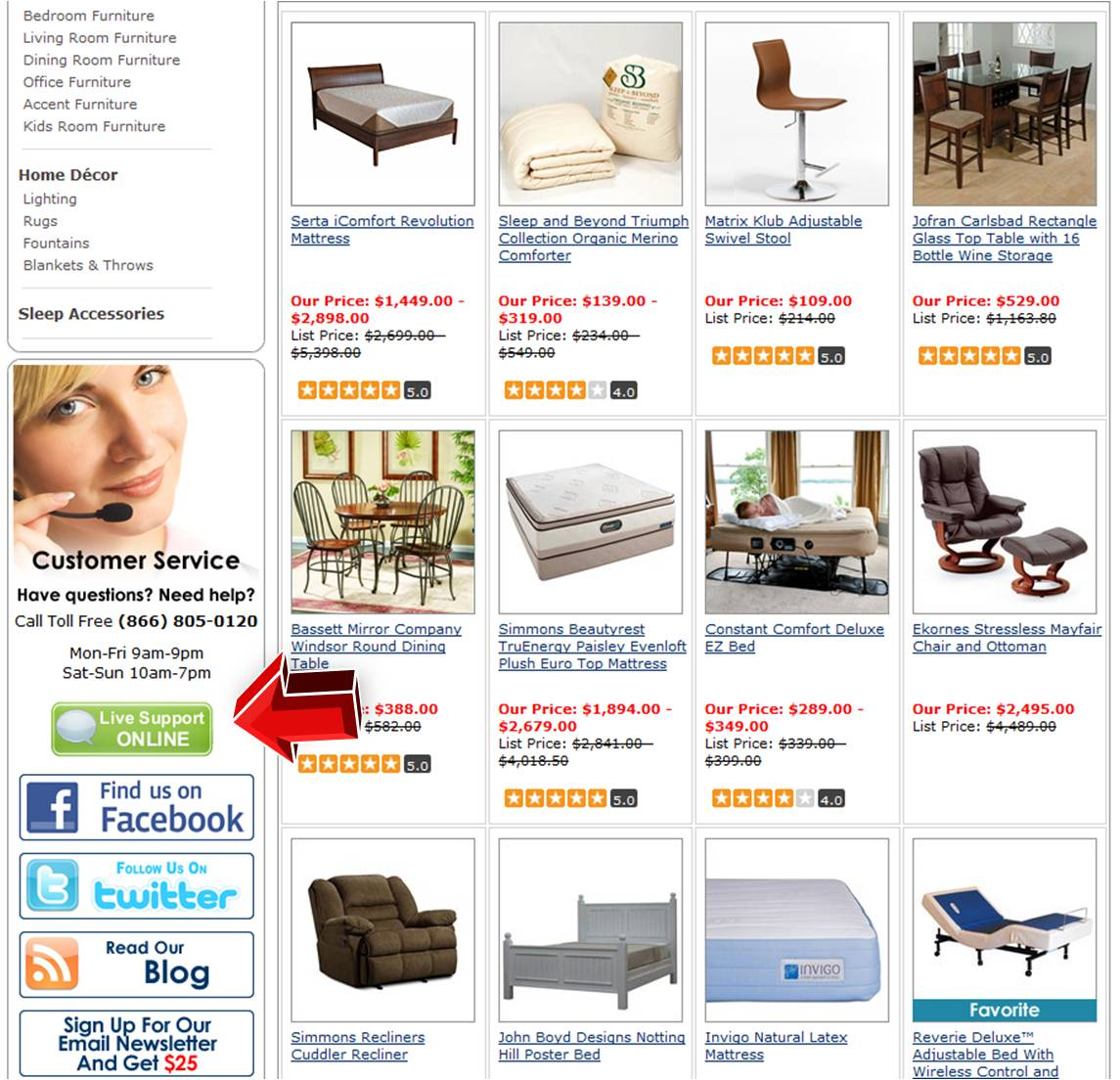 Support hose store online coupon code