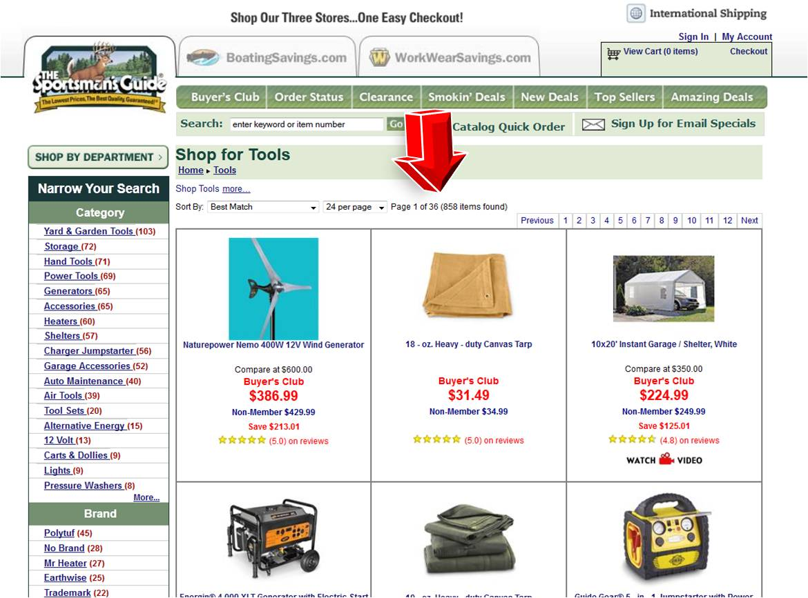 Never search for a code again. Honey automatically pops up at checkout at 20, top stores like Sportsman's Guide, tries every working coupon code and applies the best savings to your cart.