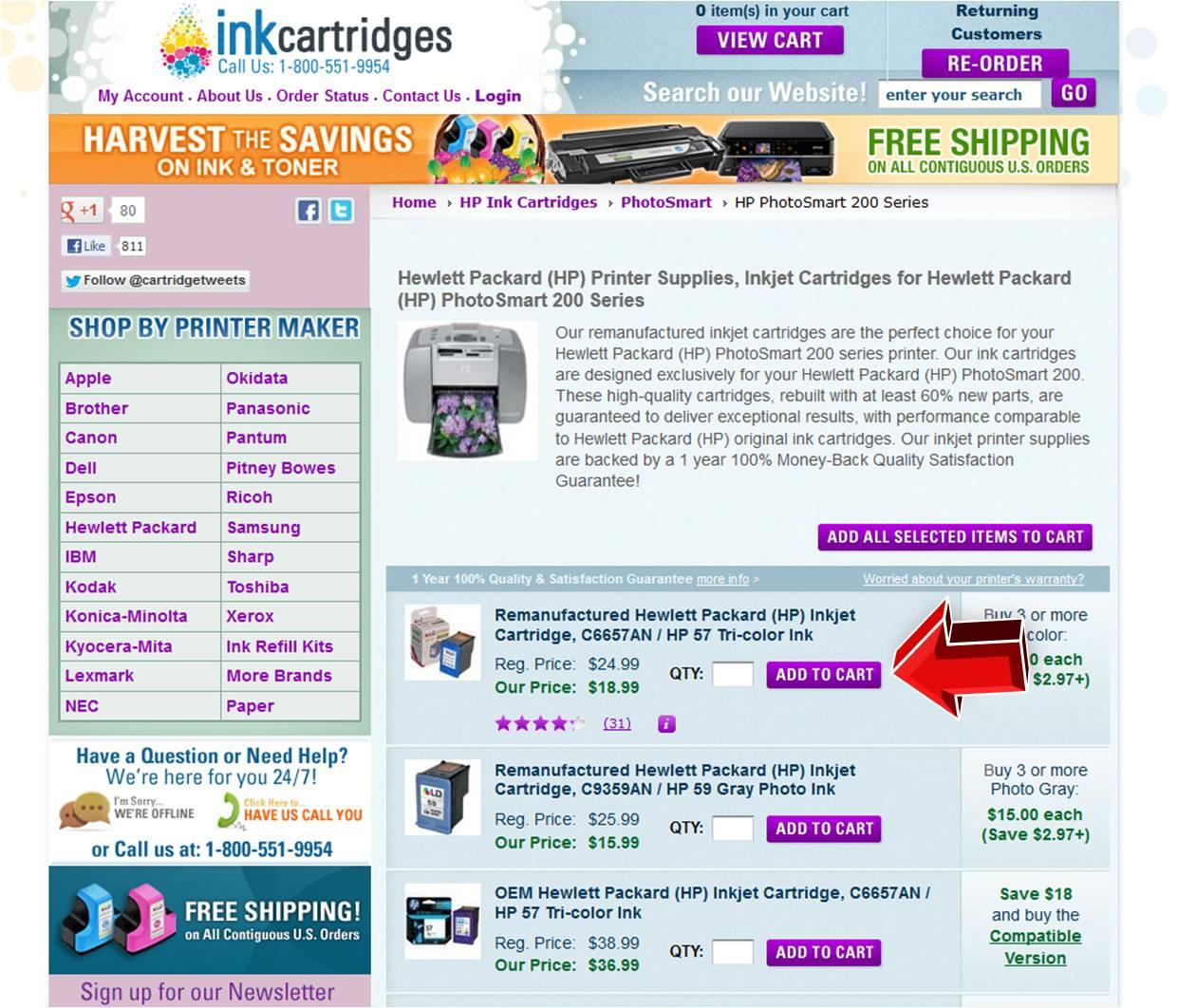 Inkcartridges.com coupon code