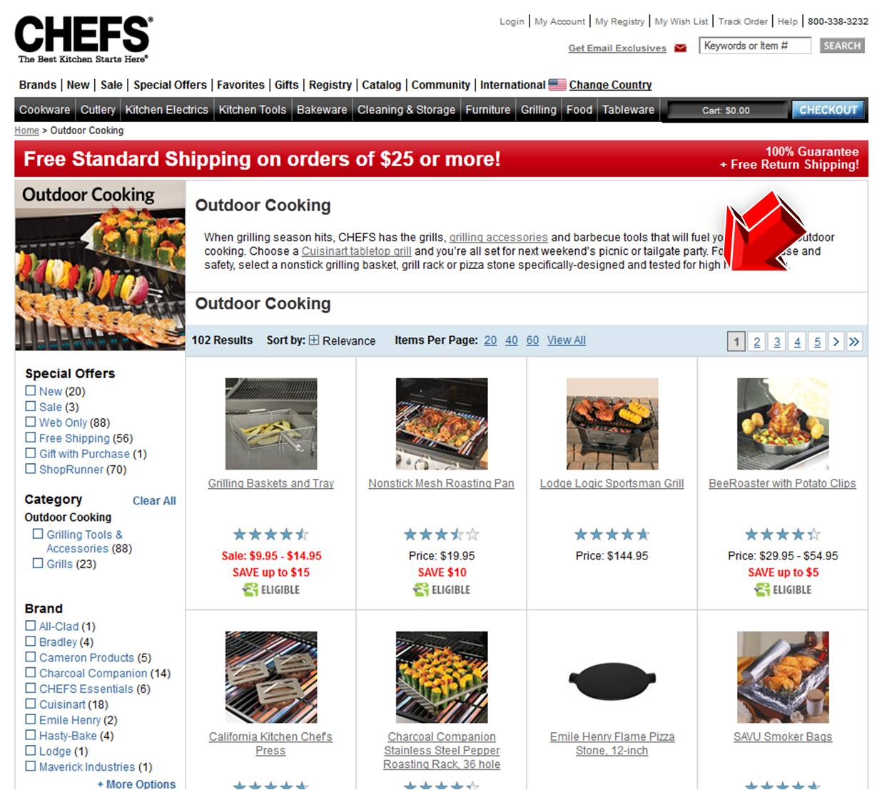 Chefs catalogue coupon code