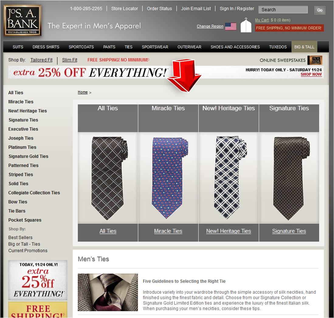 Andrew's ties coupon code