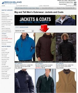 List of BigMansLand Jackets & Coats