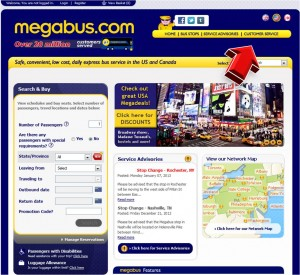 Additional Services from Megabus