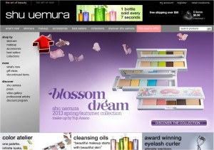 Makeup from Shu Uemura
