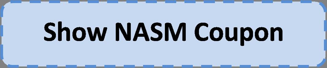 Nasm coupon code