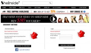 Step4 to Enter SheInside Coupon