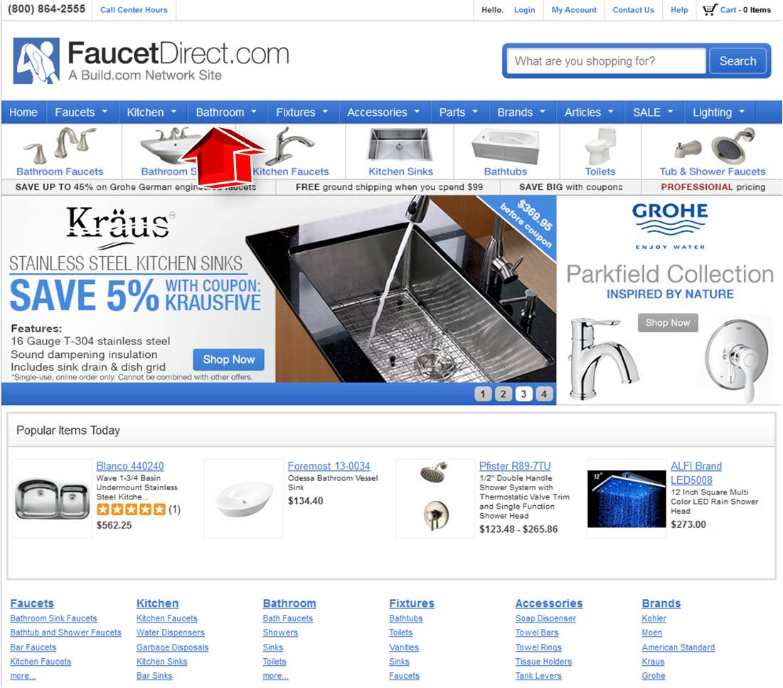 Faucet direct coupon code