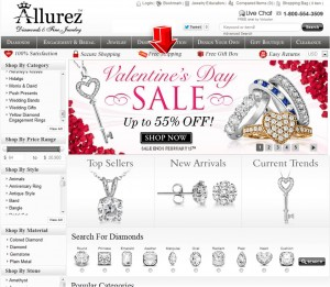 Valentine's Day Sale from Allurez