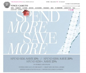 Clothing from Vince Camuto
