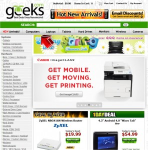 Computer Equipment from Geeks.com