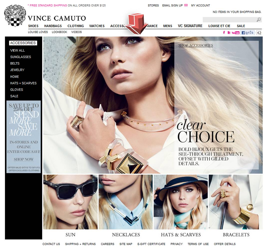 Vince camuto discount coupons