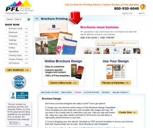 List of Brochures Printing from PrintingForLess