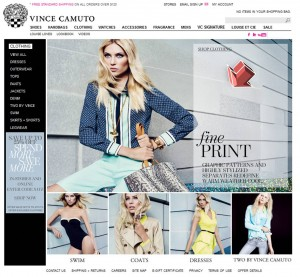 List of Clothing from Vince Camuto