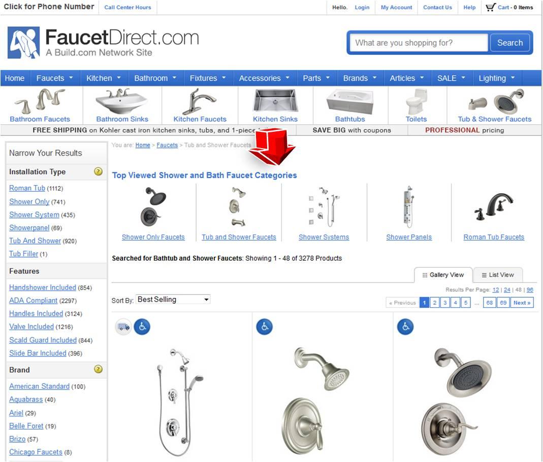 Faucet Direct : Faucet Direct Coupon Coupon Code