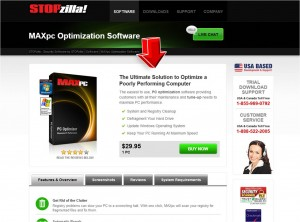 MAXpc Optimization Software Information from STOPzilla