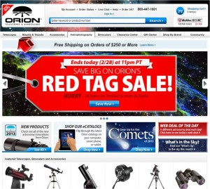 Telescopes from Telescope.com