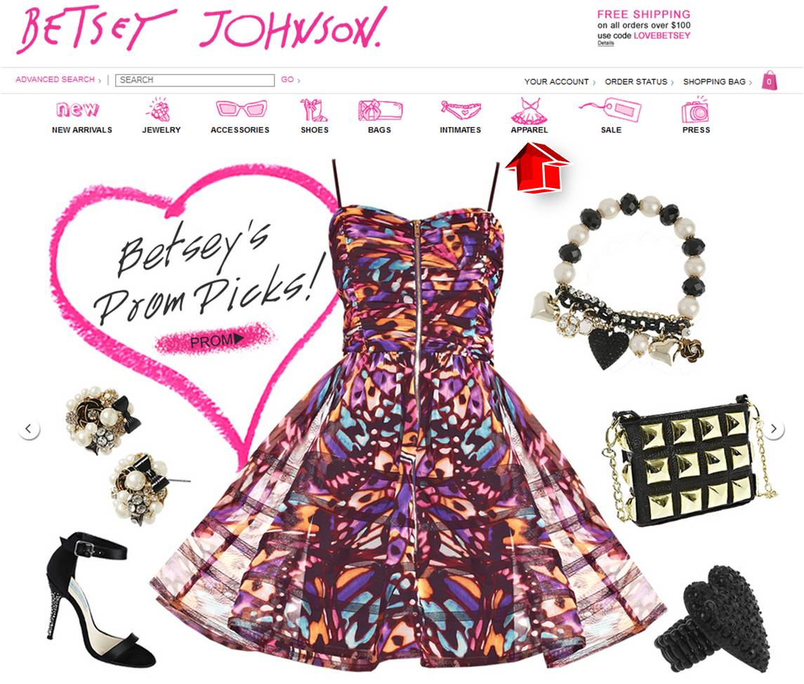 This includes tracking mentions of Betsey Johnson coupons on social media outlets like Twitter and Instagram, visiting blogs and forums related to Betsey Johnson products and services, and scouring top deal sites for the latest Betsey Johnson promo codes.