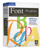 Font Portfolio