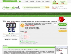 Step2 to Enter TomatoInk Coupon Code