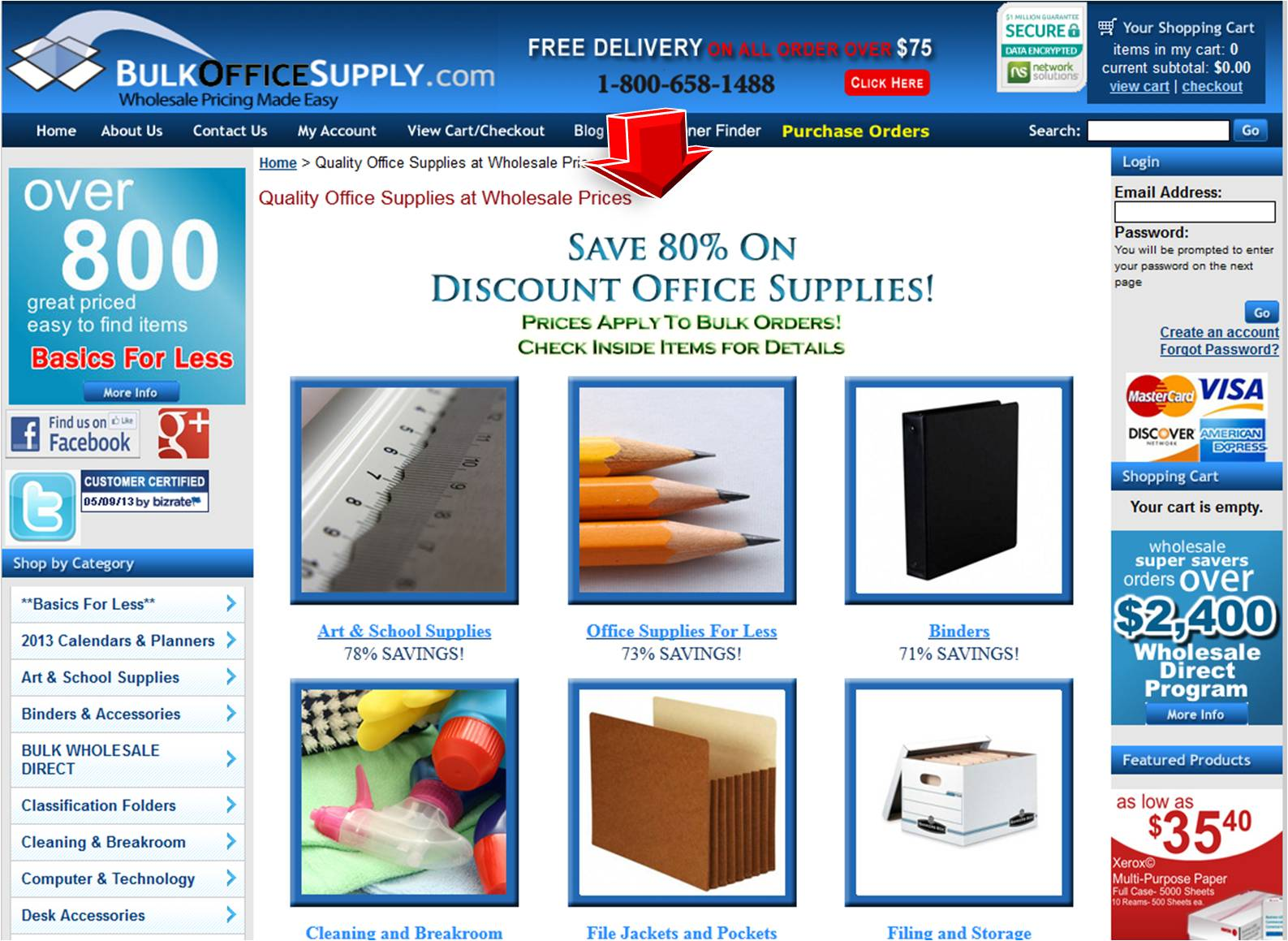 trueofilfis.gq is an online office supply store and furniture e-tailer. Thousands of items online from complete office supplies, office solutions, and stationery supplies to desk supplies, office furniture, office chairs, and more.