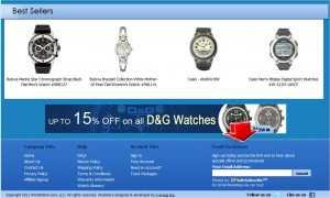 WristWatch Mailing Services