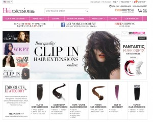 Step1 to Enter Hairextensionbuy Coupon Code
