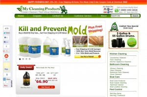 Step1 to Enter My Cleaning Products Coupon Code